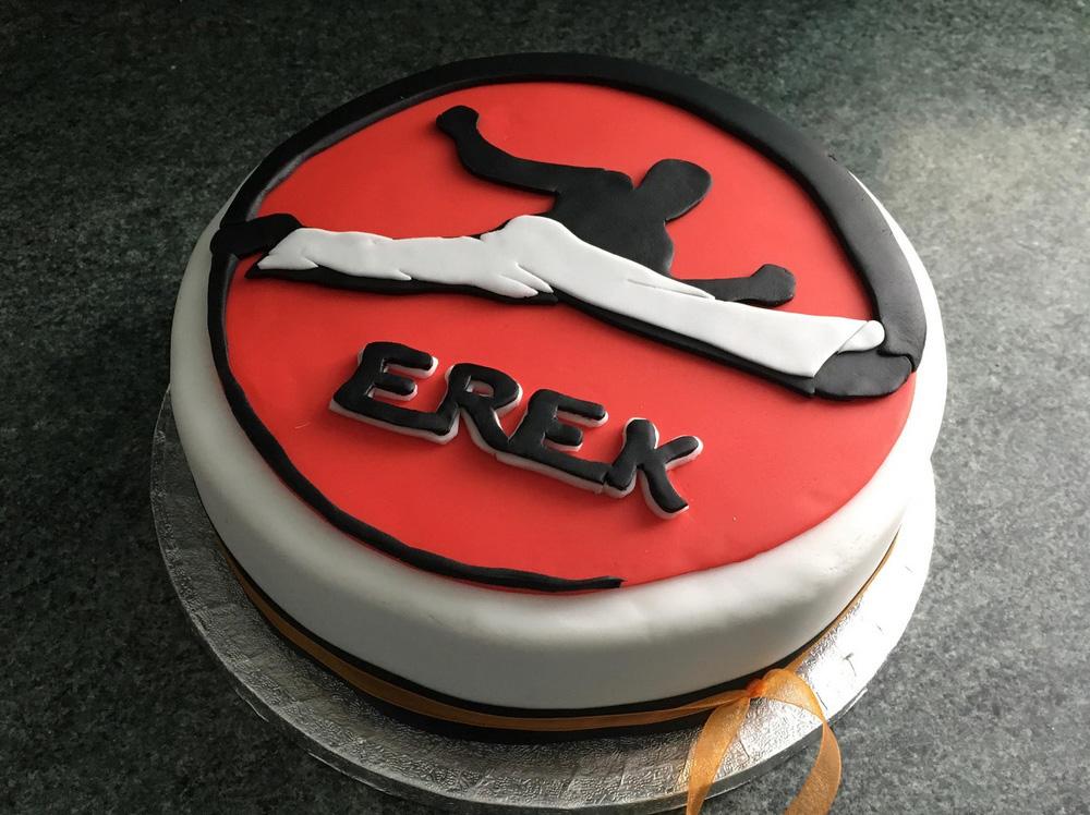 Capoeira Birthday Cake