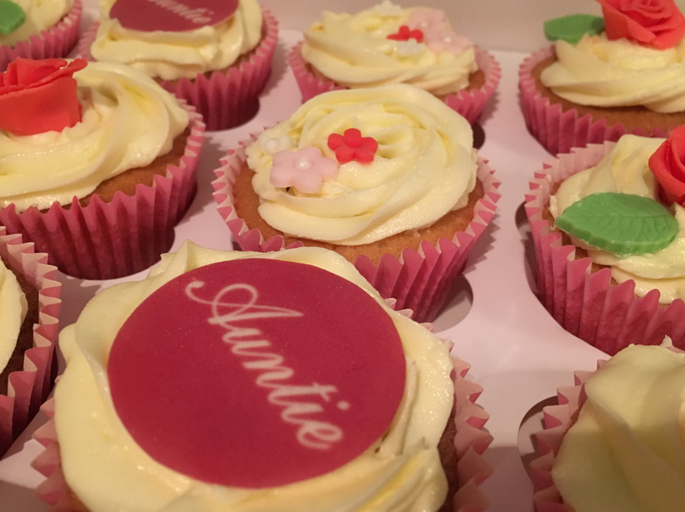 Best Auntie Cupcakes