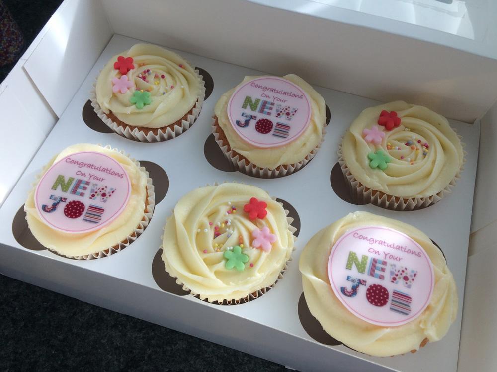 Congratulations New Job Cupcakes