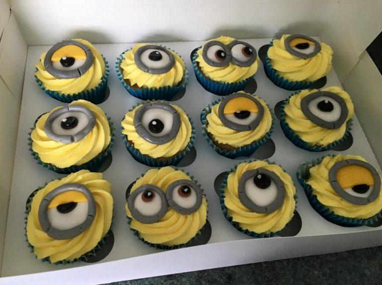 Custom Character Cupcakes